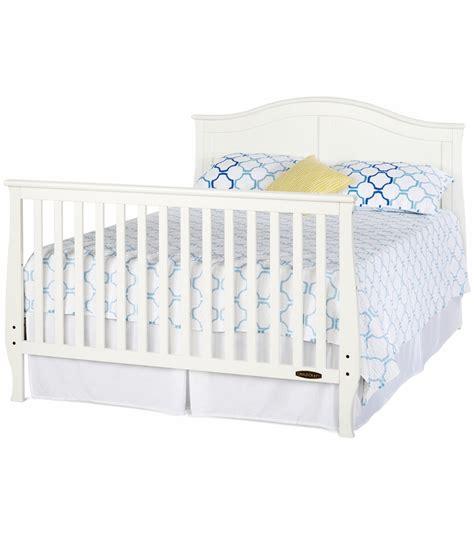 kid craft crib child craft camden convertible crib in matte white
