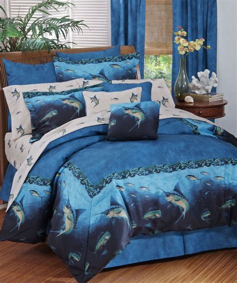fish comforter sets coral reef fish bedding 11 pc comforter set