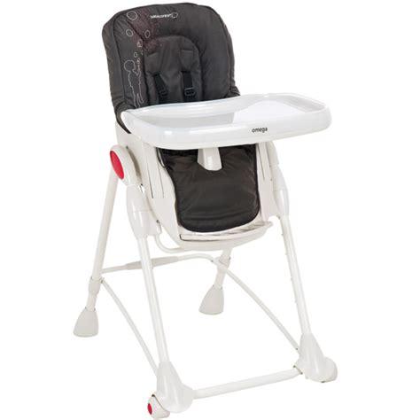 housse chaise haute omega b 233 b 233 confort poetic black le