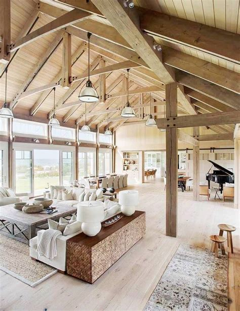 25 best ideas about barn house interiors on