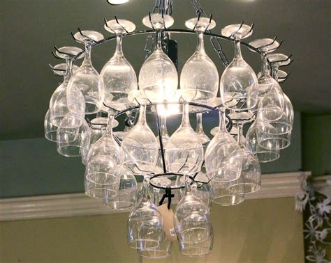 wine rack chandelier how to make a wine glass rack chandelier woodworking