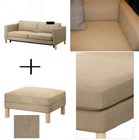 karlstad sofa bed slipcover ikea karlstad sofa bed and footstool slipcover sofabed