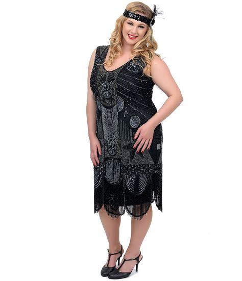 plus size beaded dresses unique vintage plus size 1920s quot the bosley quot black beaded