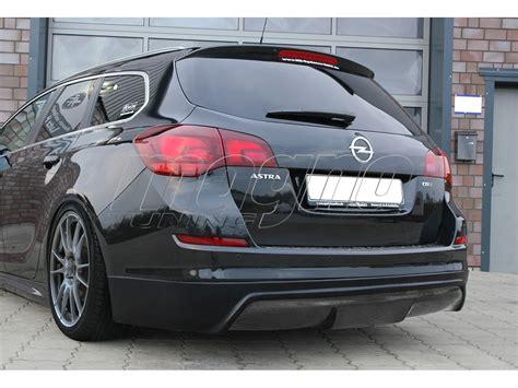Opel Astra J opel astra j sports tourer intenso heckansatz