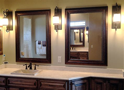 mirrors bathroom framed matching framed bathroom mirrors for blanco