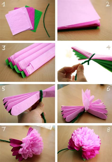 to make with paper best 25 tissue paper flowers ideas on paper