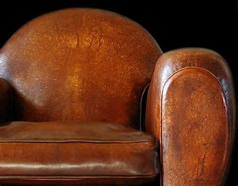 fauteuil club cuir ancien occasion