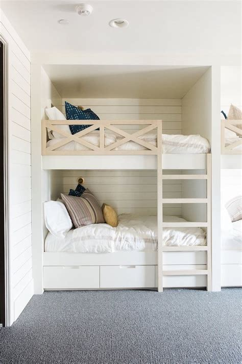 guest room with beds inspired by bunk beds for a guest room the inspired room