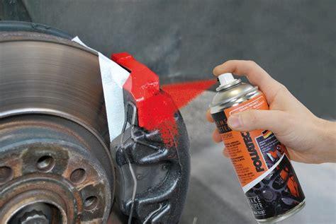 spray painting brake calipers foliatec brake caliper varnish 2k spray paint no mixing