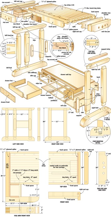 woodworking plans craftsmans workbench woodworking plans woodshop plans