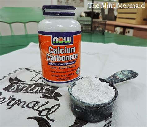 diy chalk paint using calcium carbonate the mint mermaid chalk paint recipe