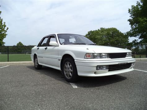 auto air conditioning service 1989 mitsubishi sigma seat position control low miles 1989 mitsubishi galant vr4 rhd awd all wheel drive turbo white 5 speed classic
