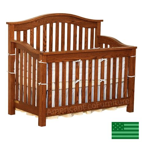 usa made baby cribs amish 4 in 1 convertible baby crib solid wood made