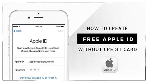 make a free apple id without credit card how to create apple id without credit card 2017 create