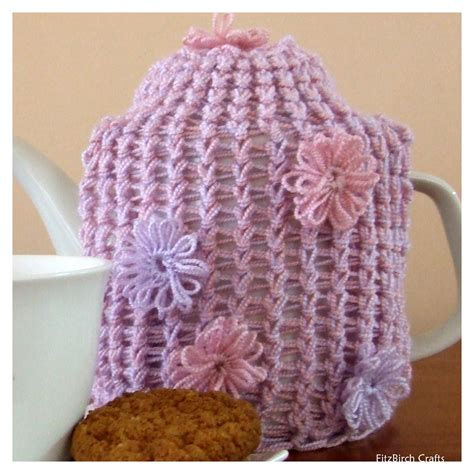 free knitting loom patterns for beginners fitzbirch crafts loom knit tea cosy