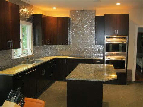 modern backsplash for kitchen modern backsplash modern kitchen boston by tile gallery