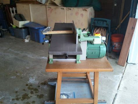 inca woodworking machinery review inca model 570 jointer planer by elingeniero
