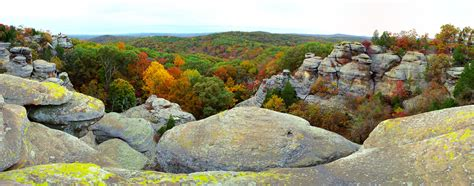 Garden Of The Gods Fall Garden Of The Gods Shawnee National Forest Il