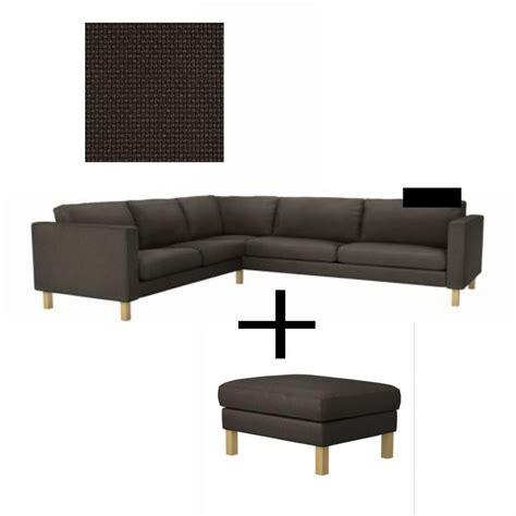 karlstad sofa slipcover ikea karlstad corner sofa and footstool slipcover cover
