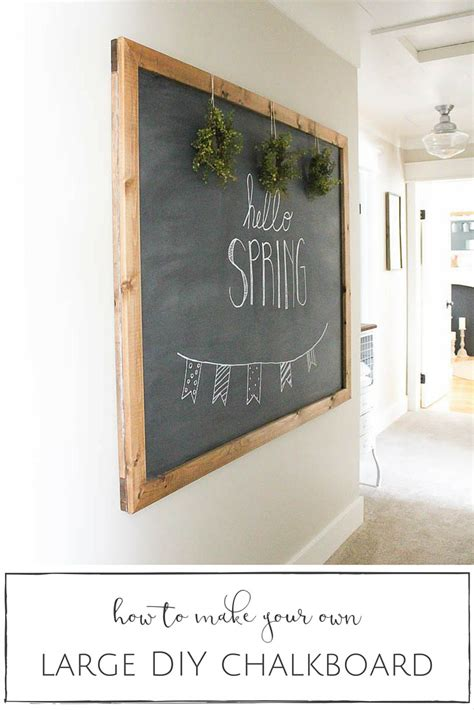 diy chalkboard print 20 creative wall decor projects house by hoff