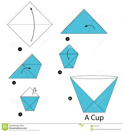 paper cup origami to make a box new generation woodworking