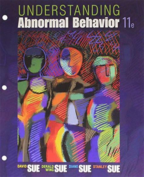essentials of understanding abnormal behavior mindtap for psychology bundle understanding abnormal behavior leaf