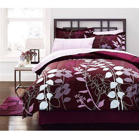 bed comforter sets walmart hometrends orkaisi bed in a bag bedding set walmart