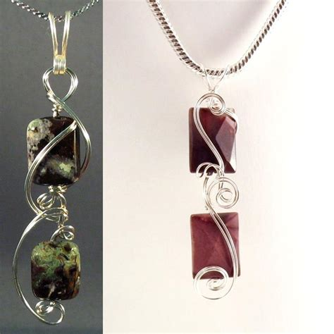 patterned wire for jewelry 10 wire wrapped pendant patterns