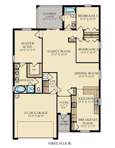 lennar homes floor plans florida new home plan in vida executive homes by lennar