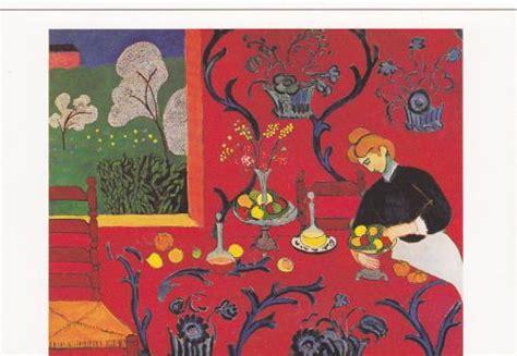 postcard fr 219766 henri matisse la desserte harmonie the serving table a harmony in