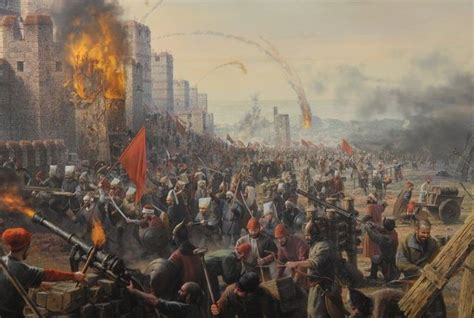 ottomans conquered constantinople lewis world history timeline timetoast timelines