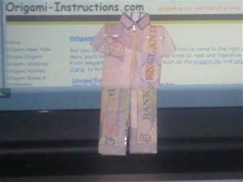 10 pound note origami origami folding how to make a money origami