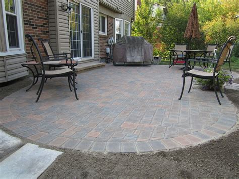 patio furniture ideas for small patios paver patio ideas for enchanting backyard amaza design