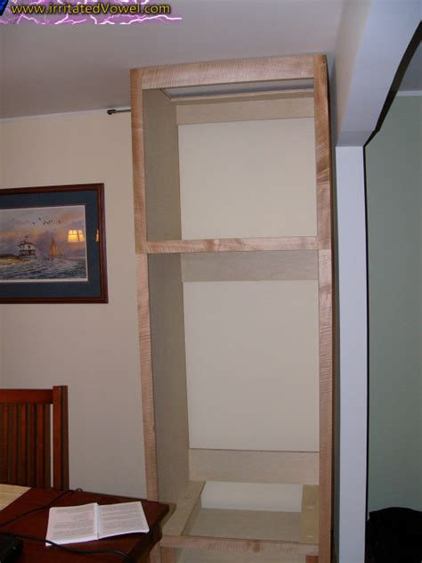 Outdoor Bench With Storage Plans by How To Make A Hidden Door Bookcase Woodcraft Design