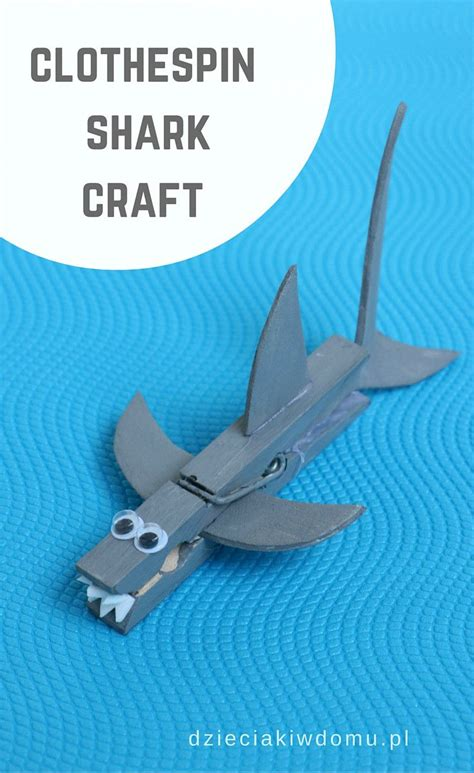 easy shark crafts for 25 best ideas about shark craft on