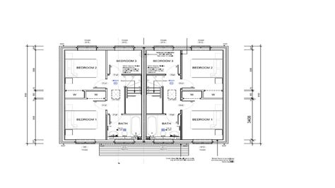 two bedroom plan design two bedroom semi detached house plan house design and plans