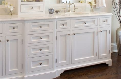 beaded inset cabinets beaded inset vanity traditional bathroom new york