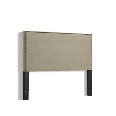 nailhead headboard nailhead upholstered headboard west elm
