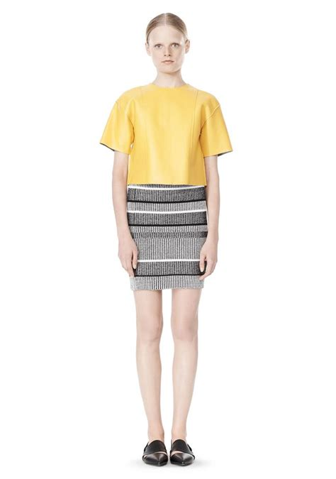 knit pencil skirts rib knit pencil skirt skirt wang official site