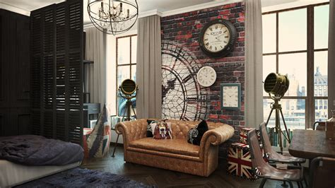 apartment style 4 small studio apartments decorated in 4 different styles