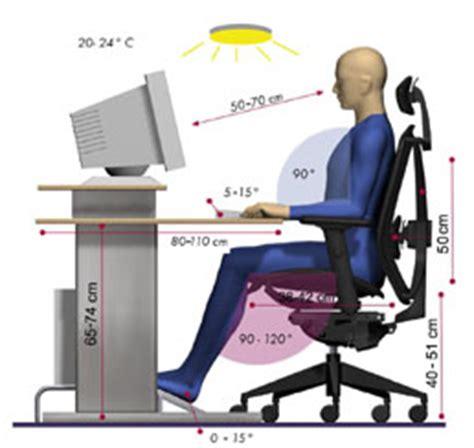 posture de travail assise et mal de dos les effets sur la sant 233 d une mauvaise posture