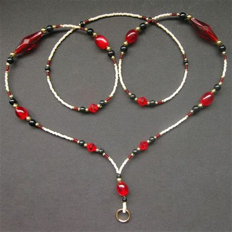 how to make a beaded lanyard beaded badge lanyard eileen handmade jewelry by