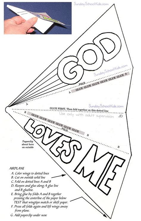 paper airplane craft paper airplane god me c and ss ideas and