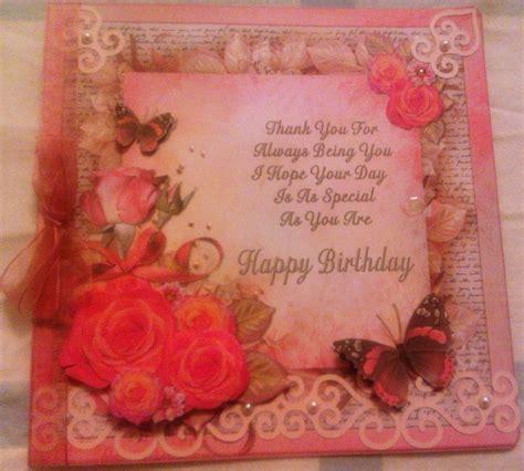 card decoupage decoupage birthday card craft