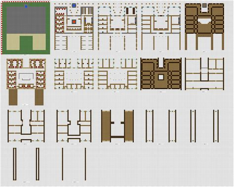 blueprints for houses free minecraft large inn floorplans wip by coltcoyote on deviantart