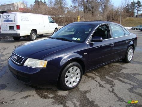 2001 Audi A6 by Brilliant Black 2001 Audi A6 2 8 Quattro Sedan Exterior