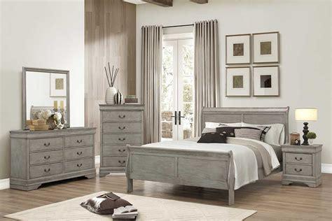 bedroom furniture grey gray bedroom set the furniture shack discount