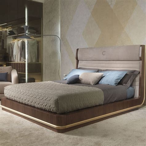 bed upholstered headboard bed contemporary wooden with upholstered headboard
