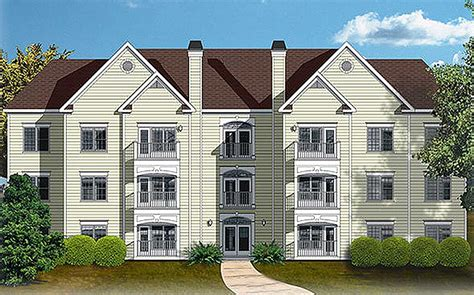 house builder plans 12 unit apartment building plan 83120dc architectural designs house plans