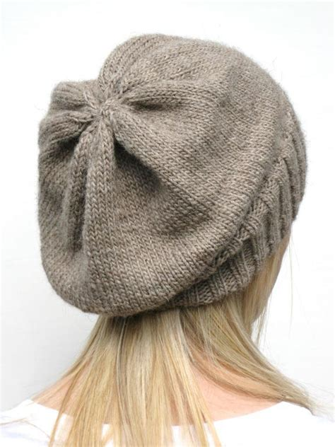 how to knit a slouchy hat dk eco slouchy hat knitting pattern images frompo